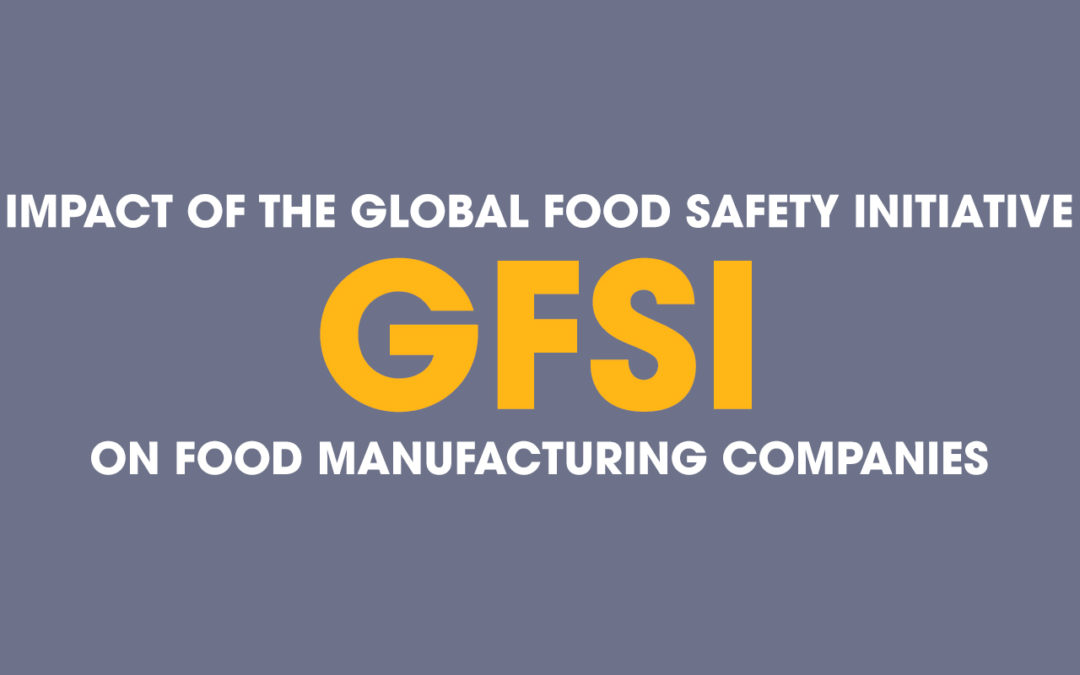 Impact of the Global Food Safety Initiative on Food Manufacturing Companies